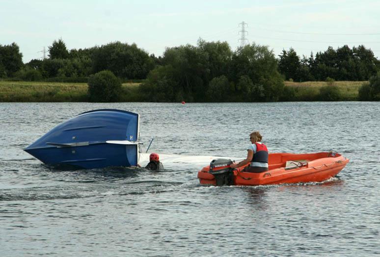 Powerboating – RYA Safety Boat