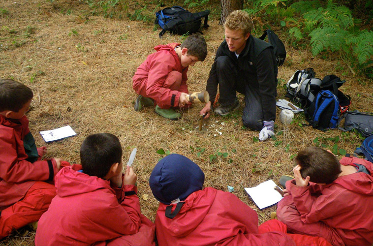 Forest School – NYCC leader and CERTA level 3
