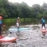 Paddleboarding arrives at Bewerley Park